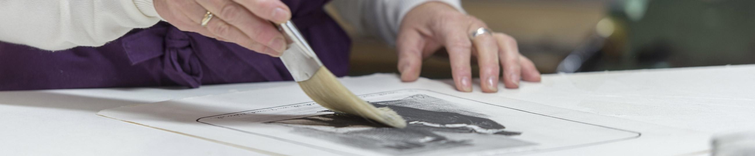 Restauration d'oeuvres d'art et de cadres anciens