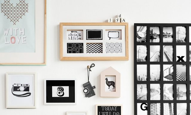 Accrocher un cadre à un mur