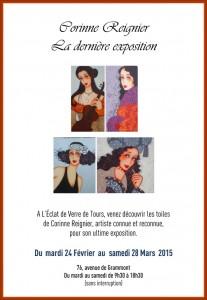 Exposition des peintures de Corinne Reignier à Tours