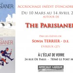 10 mars – 14 avril – The Parisianer – Accrochage inédit d'Encadrements à Port-Marly