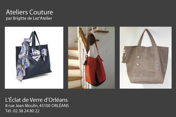 L'Eclat de Verre d'Orléans, Cours de Couture
