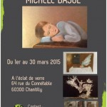 Exposition de Michèle BAJOL à Chantilly – Mars 2015