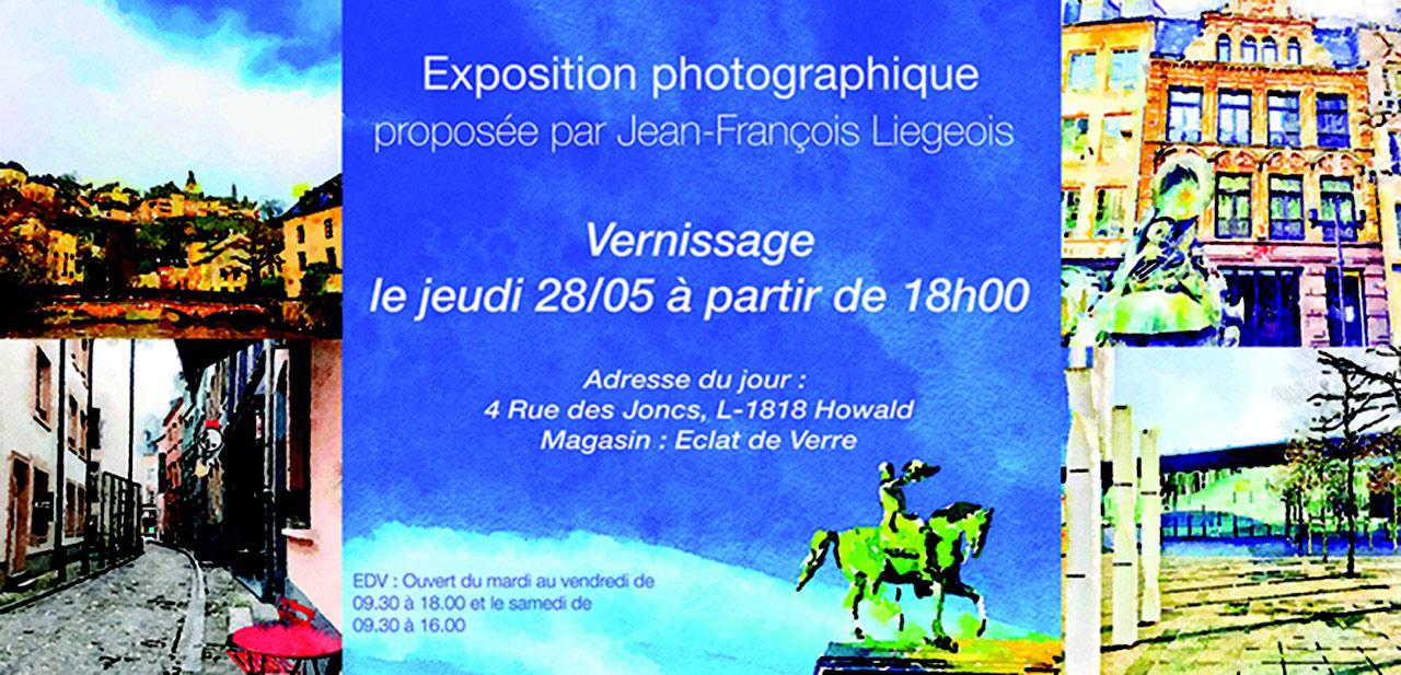 Luxembourg le 28 05 vernissage exposition for Miroir sur mesure luxembourg