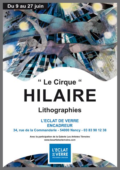 Exposition de lithographies de Camille Hilaire