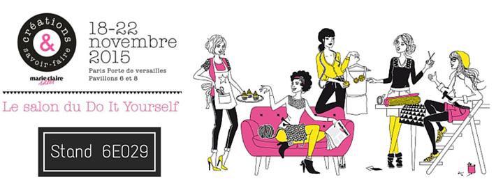 l'Eclat de Verre participe au salon créations et savoir-faire 2015 à Paris