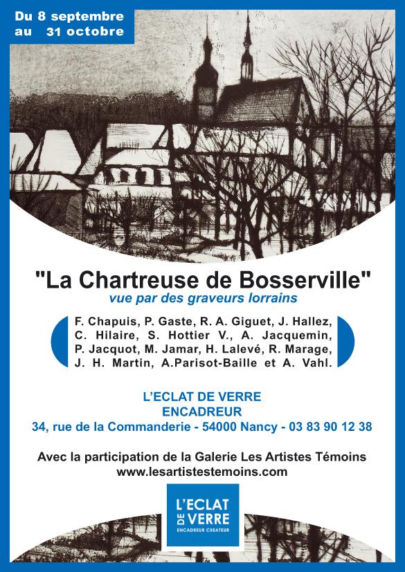 Exposition à nancy La chartreuse de Bosserville