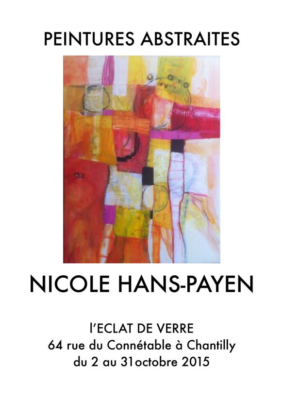 Nicole Hans Payen expose à Chantilly encadrement
