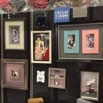 Vitrine de cadres créatifs au salon Création et Svoior-Faire de Paris