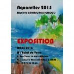 Exposition Danièle Garlaschelli Giroud 1|31 Mars 2016