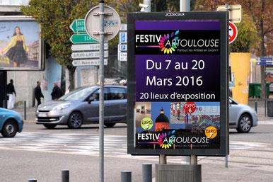 L'Éclat de Verre, encadreur à Toulouse participe à Festiv'Art Toulouse