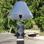 lampe marqueterie de paille