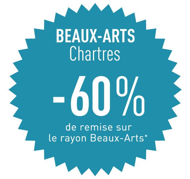 votre encadreur à Chartres vous propose -60% sur son rayon beaux arts jusqu'à épuisement du stock