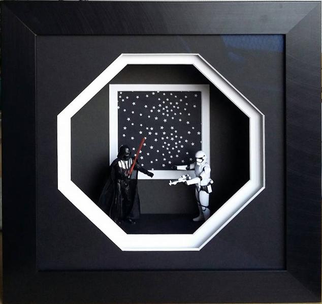 la preuve que tout peut s 39 encadrer l eclat de verre cadres miroirs et encadrement sur mesure. Black Bedroom Furniture Sets. Home Design Ideas