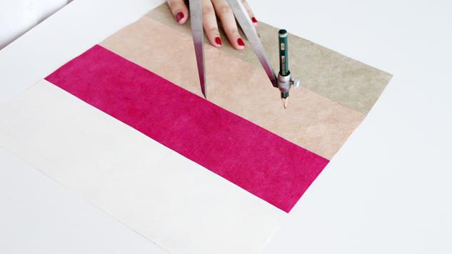 DIY rose en papier