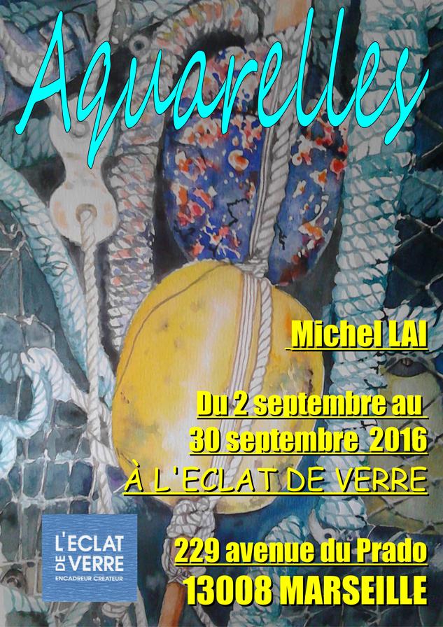Aquarelles de Michel Lai