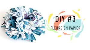 DIY fleur en papier
