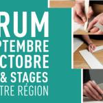 Forum d'inscription – Cours d'encadrement, Cartonnage, Aquarelle, Réfection de fauteuils