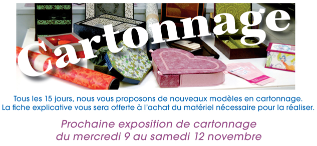 cours, animations & expositions