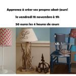 18 novembre 2016 – Cours d'Abat-jour à Strasbourg