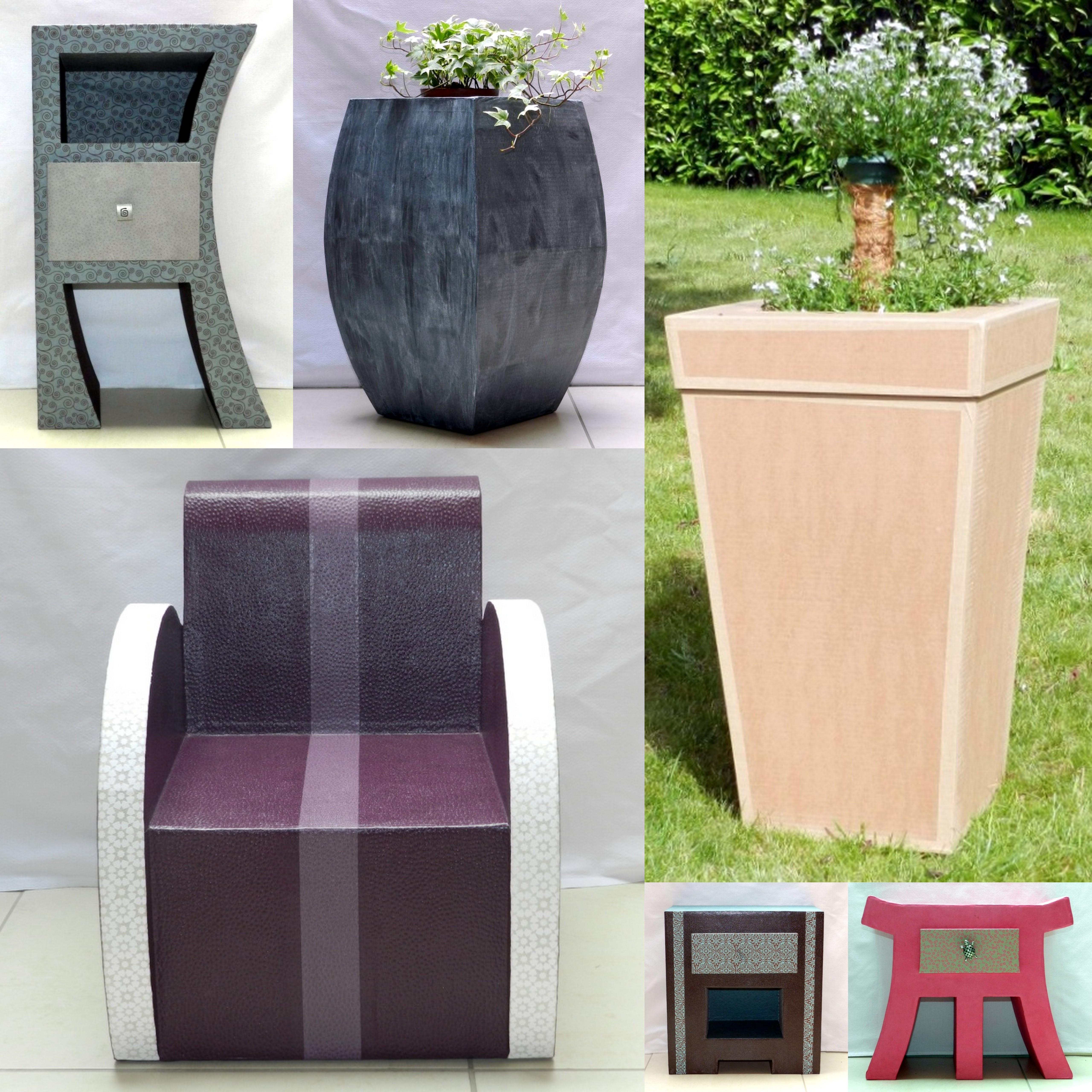 Image De Meuble En Carton stages de réalisation de meubles en carton - l'eclat de verre - cadres,  miroirs et encadrement sur mesure