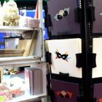 carterie masques et materiel stand eclat de verre salon créations et savoir faire