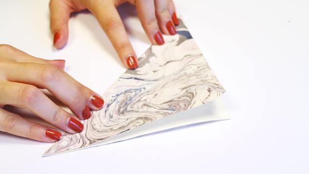 DIY noël origami
