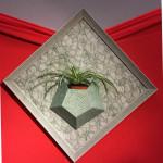 cadre vegetal encadrement d'art par l'eclat de verre