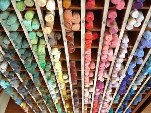 Rayon de Crayons pastel secs à L'Eclat de Verre - Le Mans