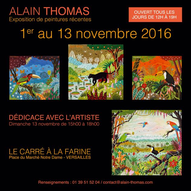 Exposition Alain Thomas à Versailles