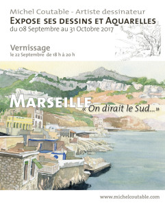 Exposition Michel coutable à Marseille du 8 septembre au 31 octobre 2017