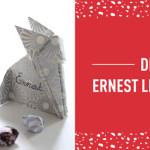 DIY #3 Noël : le marque place Ernest