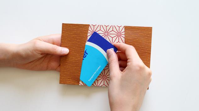 DIY porte-cartes
