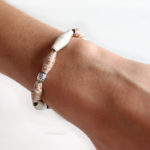 DIY bracelet de perles en papier