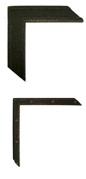 Cadres style métal rouillé