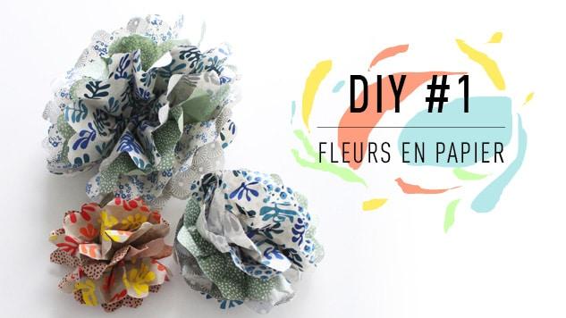 DIY #1 Fleurs en papier : La pivoine