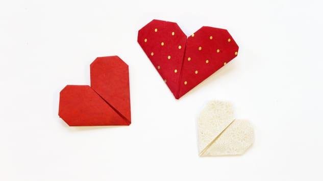 DIY St Valentin : Marque-page cœur