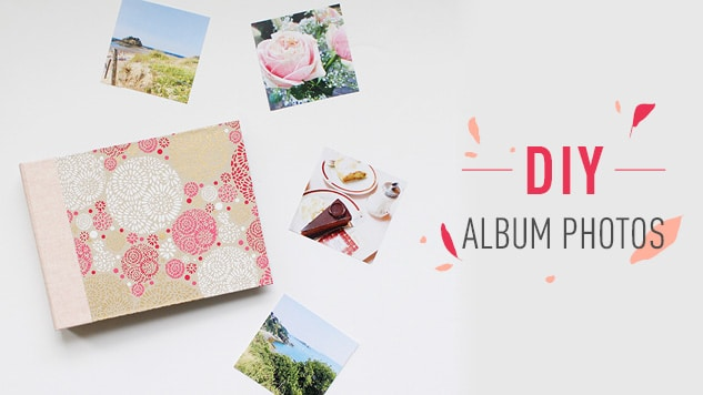 DIY album photo