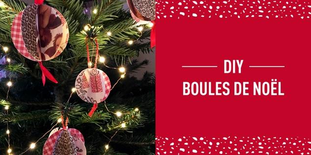 DIY #4 Noël : Boule de Noël
