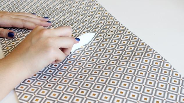 DIY pochette pour aiguilles à tricoter