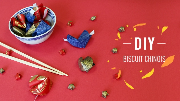 DIY Biscuit chinois origami en seulement 4 étapes