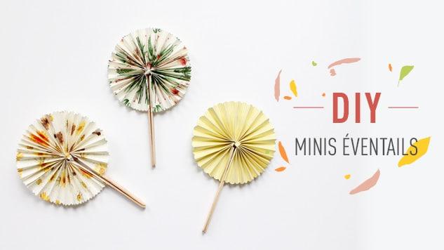 DIY Minis éventails