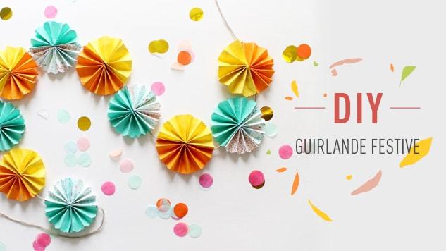 DIY Guirlande festive