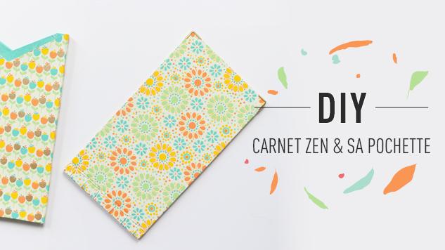 DIY Carnet Zen un carnet reliure japonaise facile à réaliser