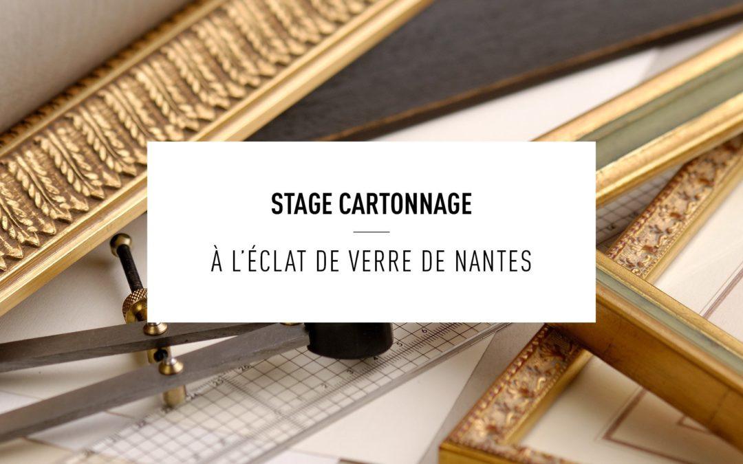 Stage de cartonnage Nantes 2020