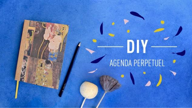 agenda perpetuel DIY
