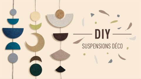 DIY suspensions décoratives